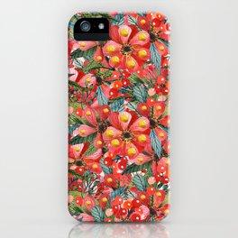 Rouge Bonheur iPhone Case