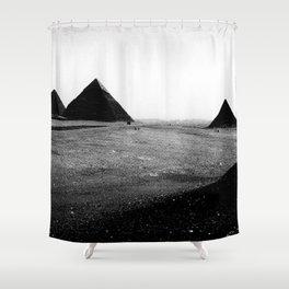 Egypt, Pyramids Shower Curtain