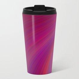 Abstract Metal Travel Mug