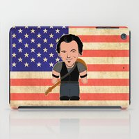 """springsteen iPad Cases featuring The Boss by Michele """"Sonik"""" Bruseghin"""