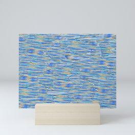 Seascape Abstract Fashion  Mini Art Print