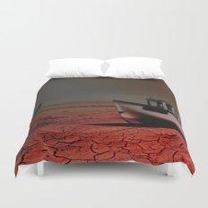 Deseert Boat Duvet Cover