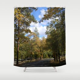 Look to the clouds... Shower Curtain