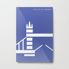 Iconic London: Tower Bridge Metal Print