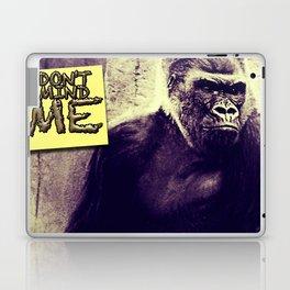 Don't Mind Me Poster Laptop & iPad Skin