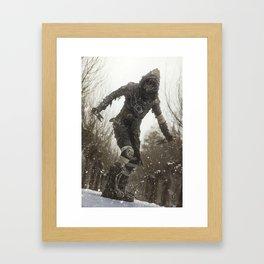 Cold Wasteland Framed Art Print