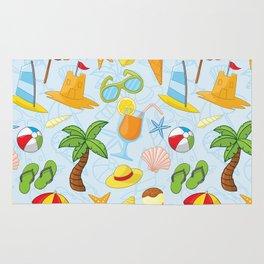 Summer pattern Rug