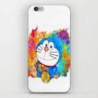doraemon iPhone & iPod Skins featuring Doraemon by ururuty