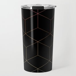 Neon Cubes Travel Mug