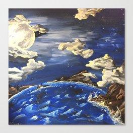 Mystey at Maelee Island Canvas Print