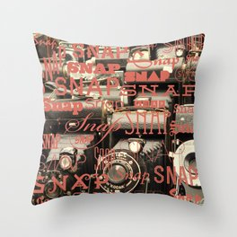 Snap Throw Pillow