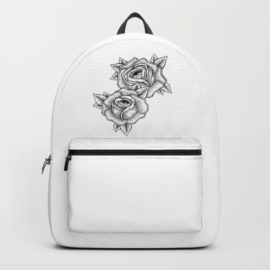 the flowers are staring at you Backpack