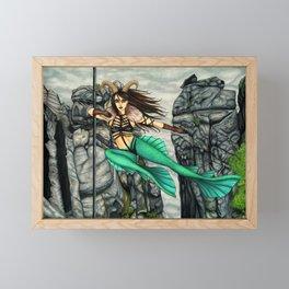 Pole Stars - CAPRICORN Framed Mini Art Print