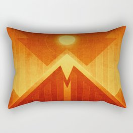 Mars - Olympus Mons Rectangular Pillow