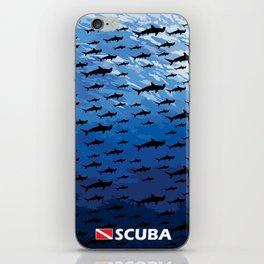 Hammerhead Sharks - Scuba Diving iPhone Skin