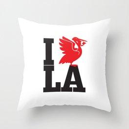 I HEART LA Throw Pillow