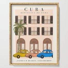 Cuba Exhibition Serving Tray