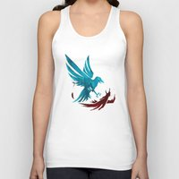infamous Tank Tops featuring Infamous Second Son - Good Karma Delsin Rowe by MarcoMellark