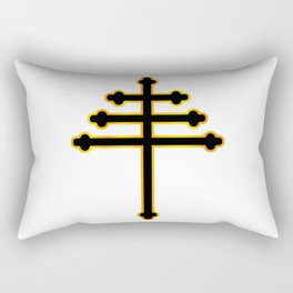 Maronite Christian Cross Rectangular Pillow