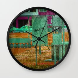 Turn on the Power Wall Clock