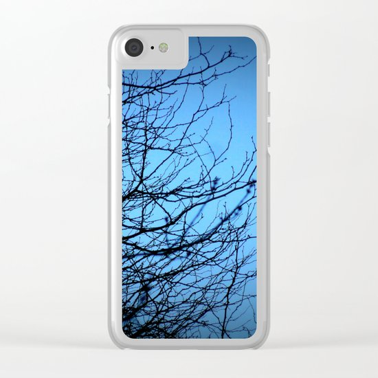Moonlight at Dusk 2 Clear iPhone Case