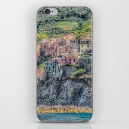 Italy Seaside Architecture iPhone Skin