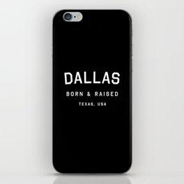 Dallas - TX, USA iPhone Skin