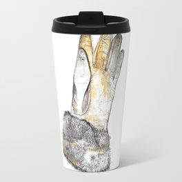 Pen And Painted Mug Travel Mug