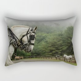 Marching forward Rectangular Pillow