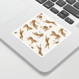 Tiger Print Sticker