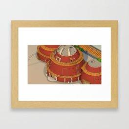 Kawaii Naruto Shippuden v 21 Framed Art Print