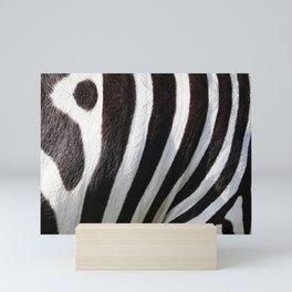"""Pop Safari 01 Zebra"" Mini Art Print"