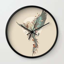 Tempus Fugit Wall Clock