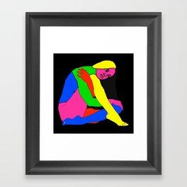 Gymnast Framed Art Print