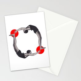 Let's get physical Stationery Cards