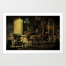 Old Curiosity Shop Paris Art Print