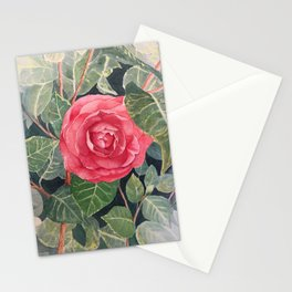 The Red Flower Stationery Cards