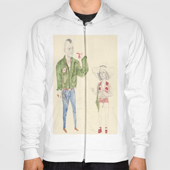 Travis Bickle and Iris Hoody