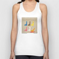 reservoir dogs Tank Tops featuring No069 My Reservoir Dogs minimal movie poster by Chungkong