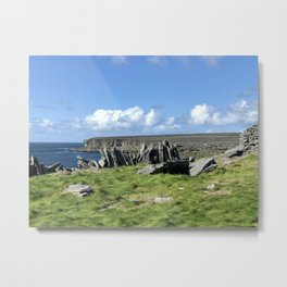Irish Island Metal Print