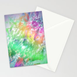 Shattered Rainbow Stationery Cards