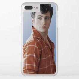 lol ur not aaron taylor-johnson Clear iPhone Case