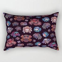 Tarantulas - dark Rectangular Pillow
