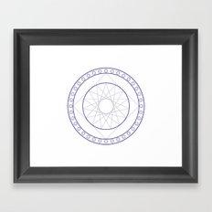 Anime Magic Circle 16 Framed Art Print