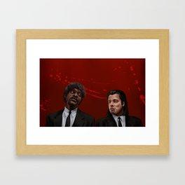 Jules & Vincent Framed Art Print