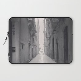 Old town Barcelona Laptop Sleeve