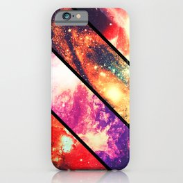 Space collage: deep space iPhone Case