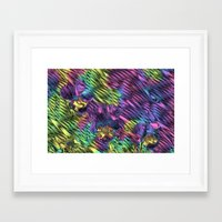 psychedelic Framed Art Prints featuring Psychedelic by Dorothy Pinder