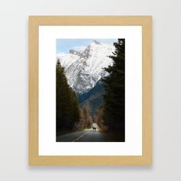 Crossing Paths Framed Art Print