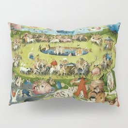 The Garden of Earthly Delights by Hieronymus Bosch Pillow Sham